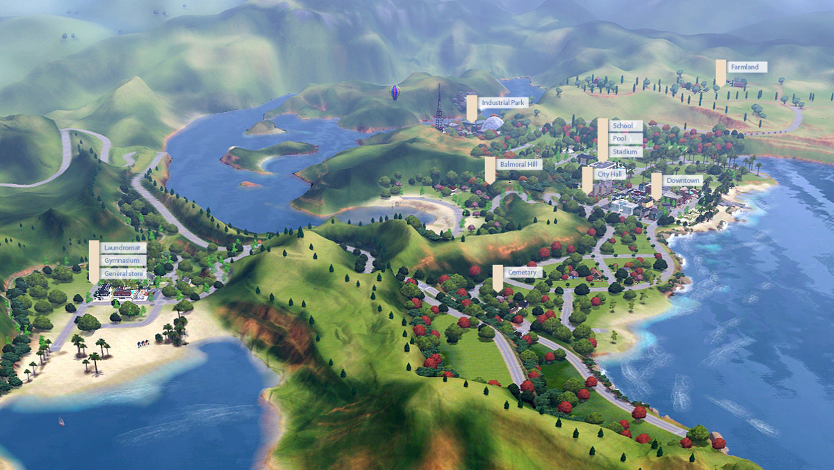 User created Sims 3 worlds to download