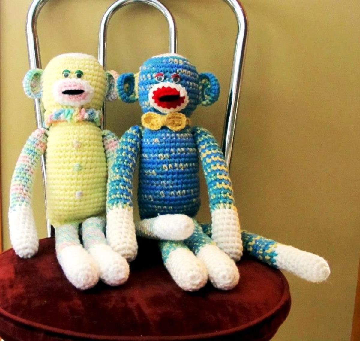 Crocheted Monkeys