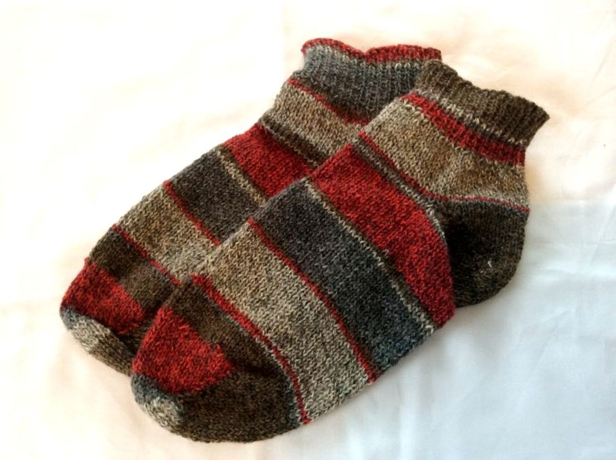 Warm Knitted Socks, Courtesy Eleanor Beaton