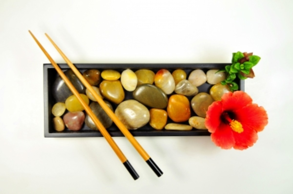 Zen or rock gardens can add serenity to a nursing home room without taking up a lot of space.