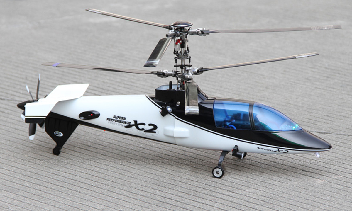 Walkera RC Helicopters: Discover The Exciting New X2 and WZQ2