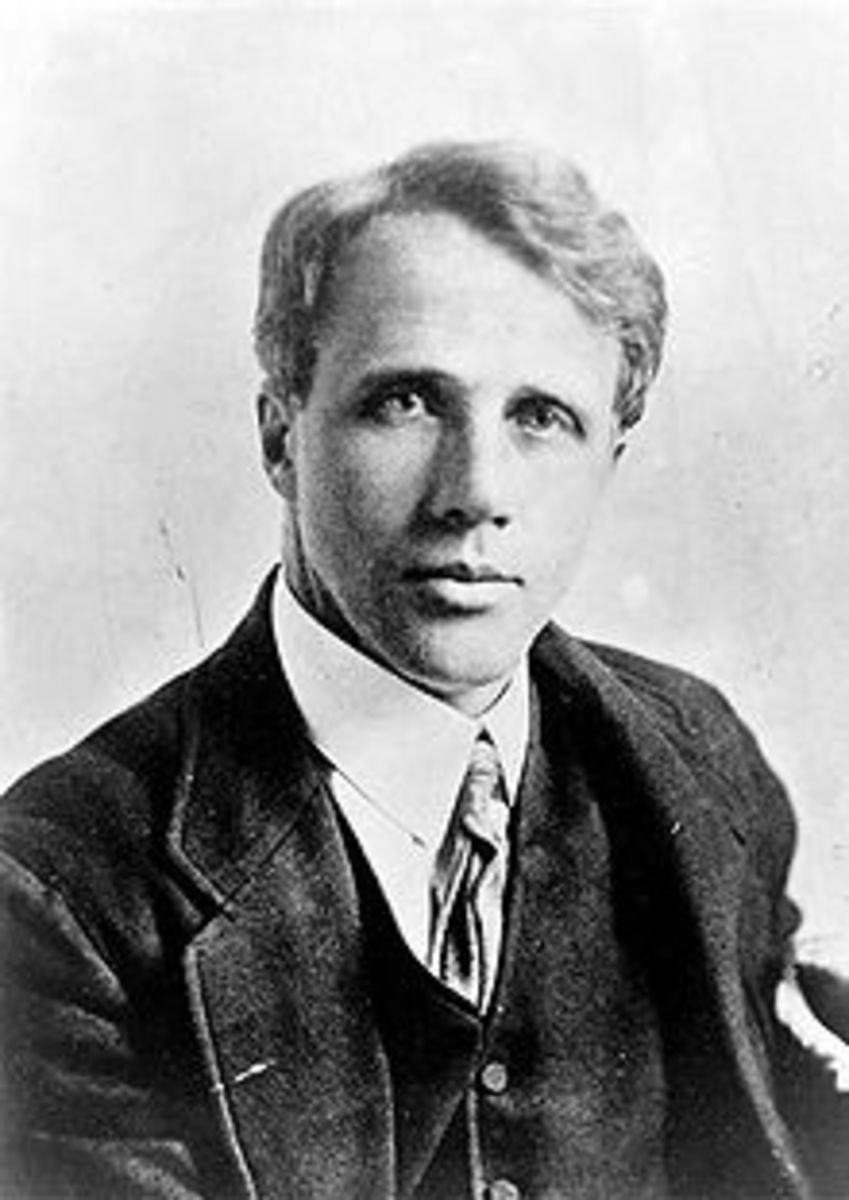 Robert Frost... what a life he lived!