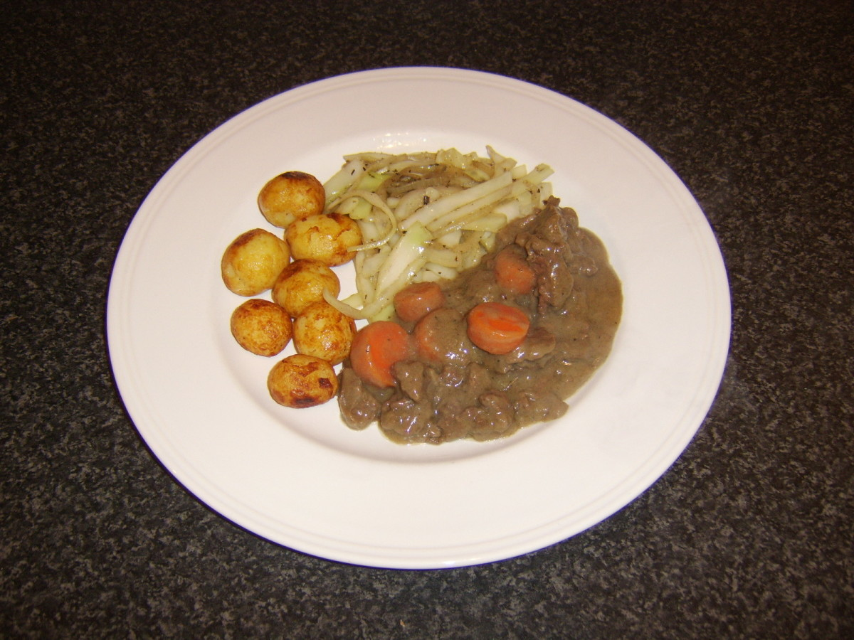 A really simple and tasty venison stew made from diced loin of Scottish red deer