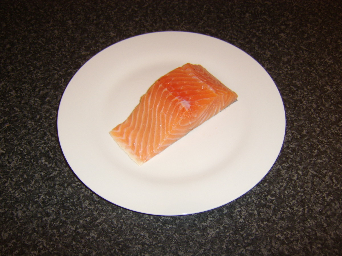 Scottish salmon loin fillet