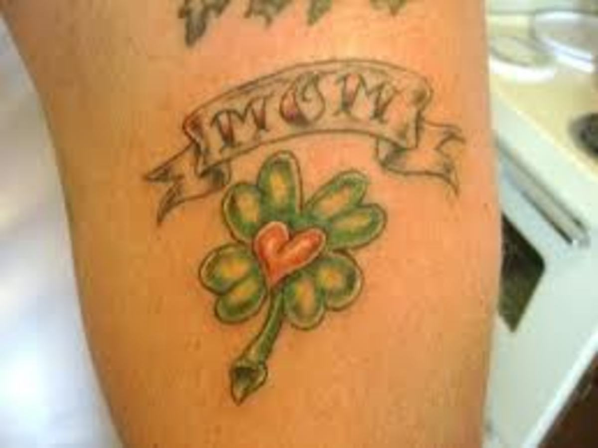great-ideas-for-clover-tattoosclover-tattoo-meanings-and-leprechauns