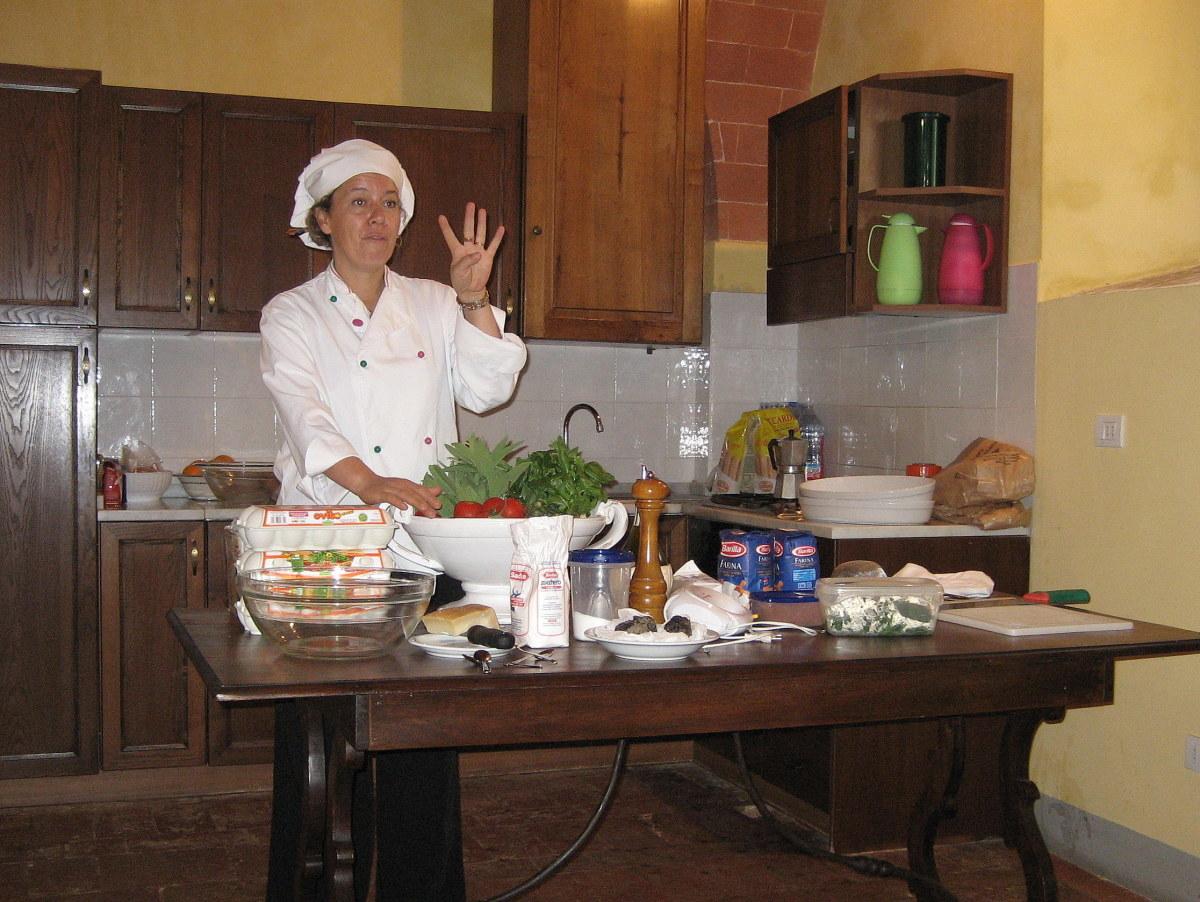Chef Giuseppina Pizzolato