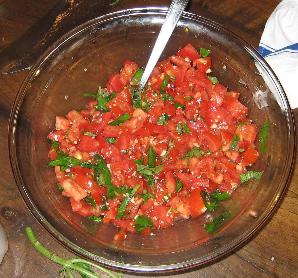 Bruschetta topping