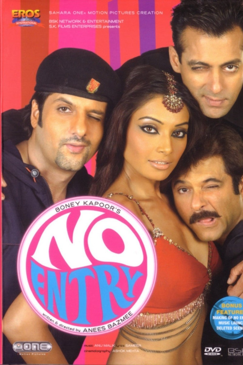 Promotional poster of No Entry.