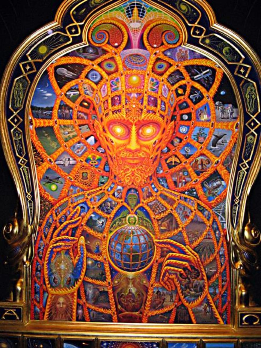 Cosmic Christ by Alex Grey