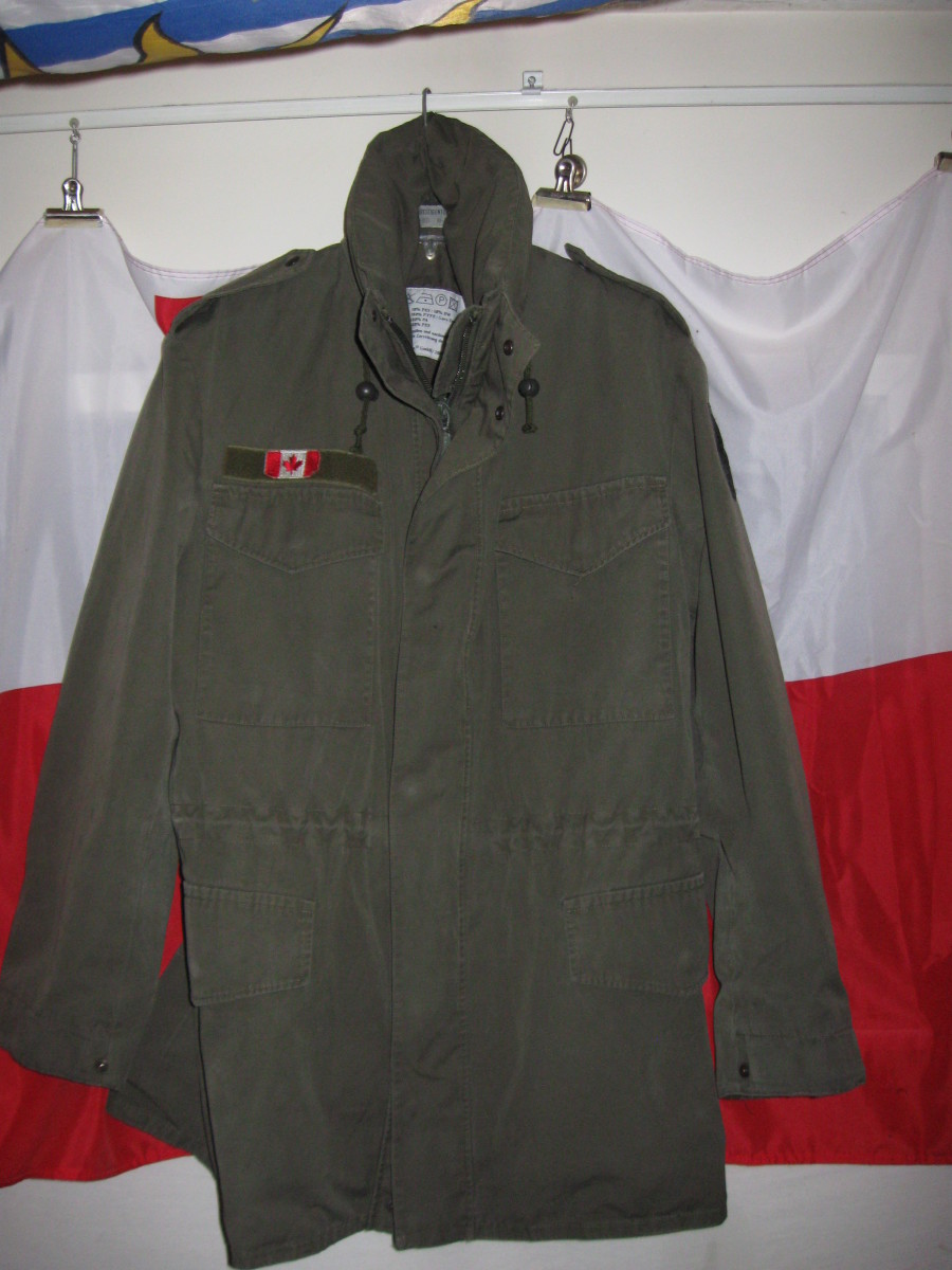 Backpacking Gear Review: M65 Military Field Jacket