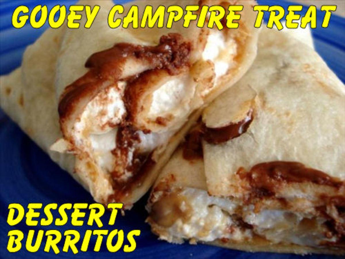 Camping Dessert Burritos