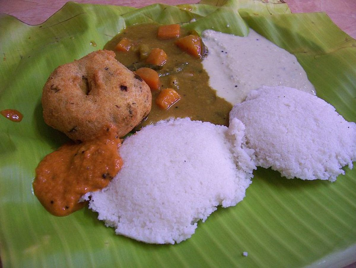 Idli and sambar is a combination that is loved by all Keralites.