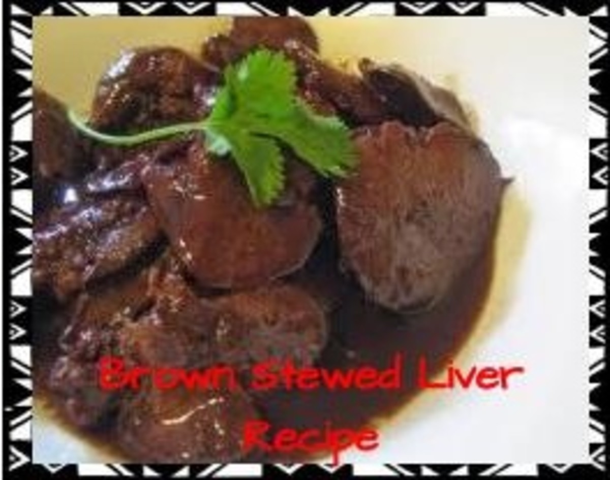 Jamaican Liver Recipe