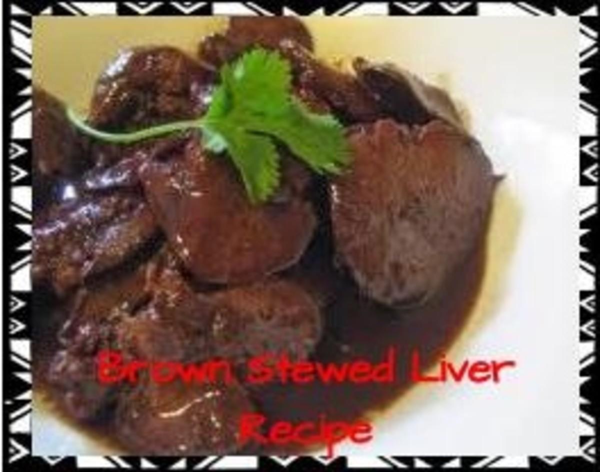 Jamaican Liver Recipe
