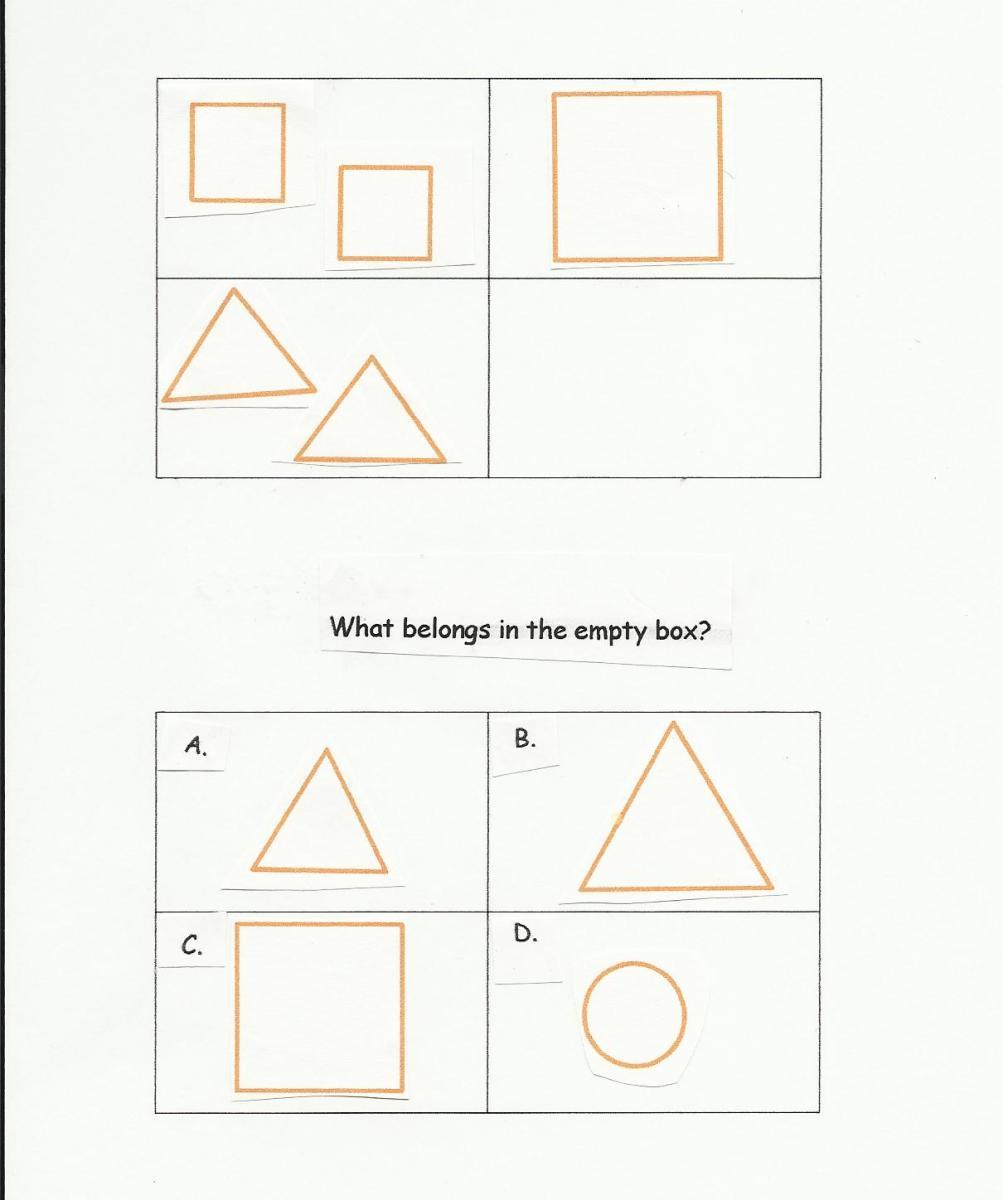 Visual Analogy Matrix