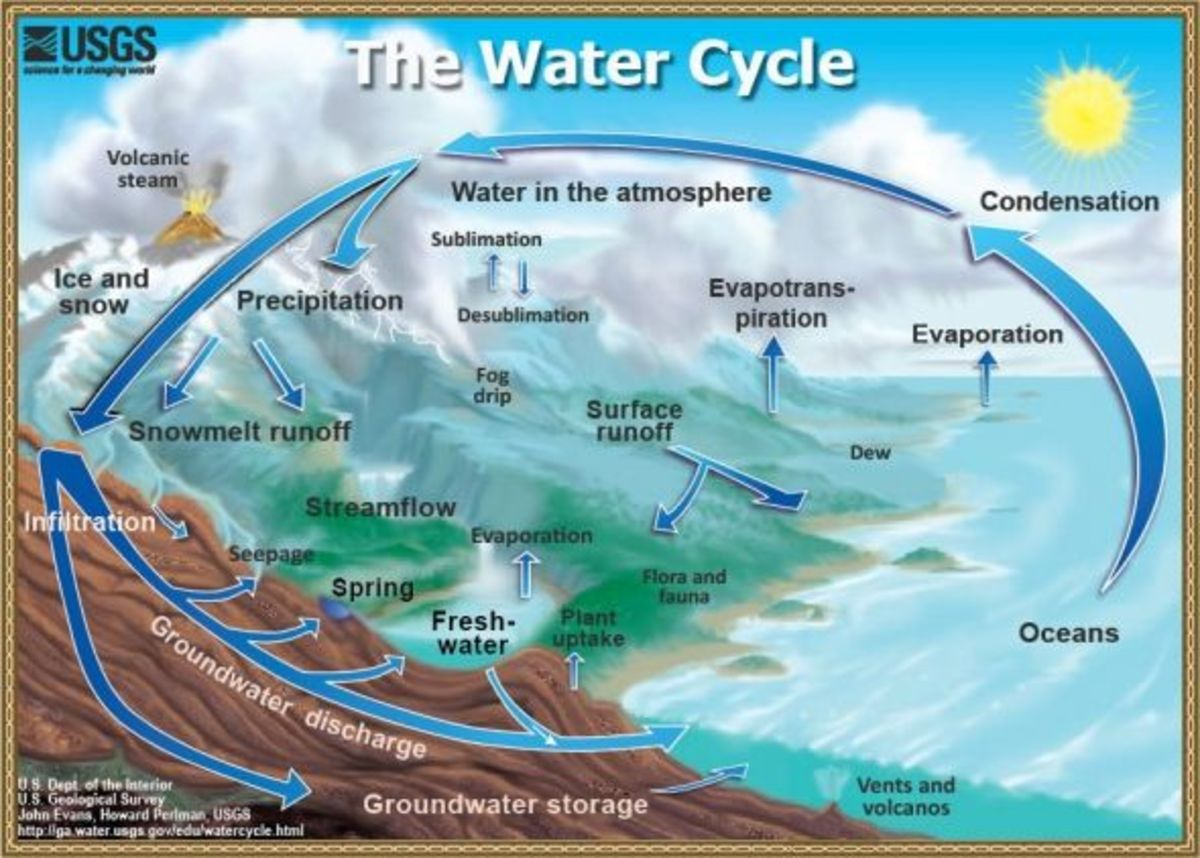 Apologia Physical Science Module 5 Links: Water Cycle