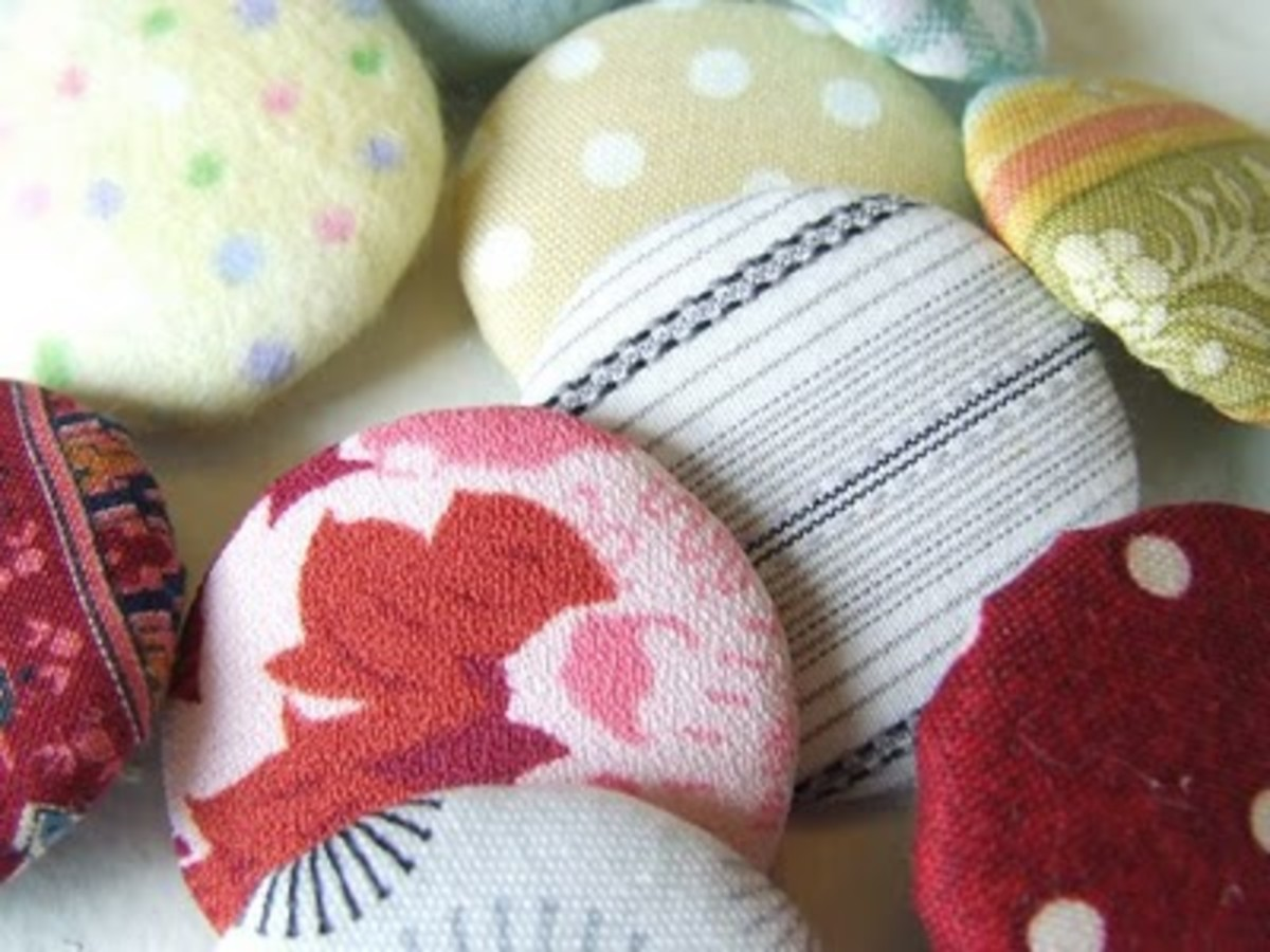 Handmade Covered Buttons
