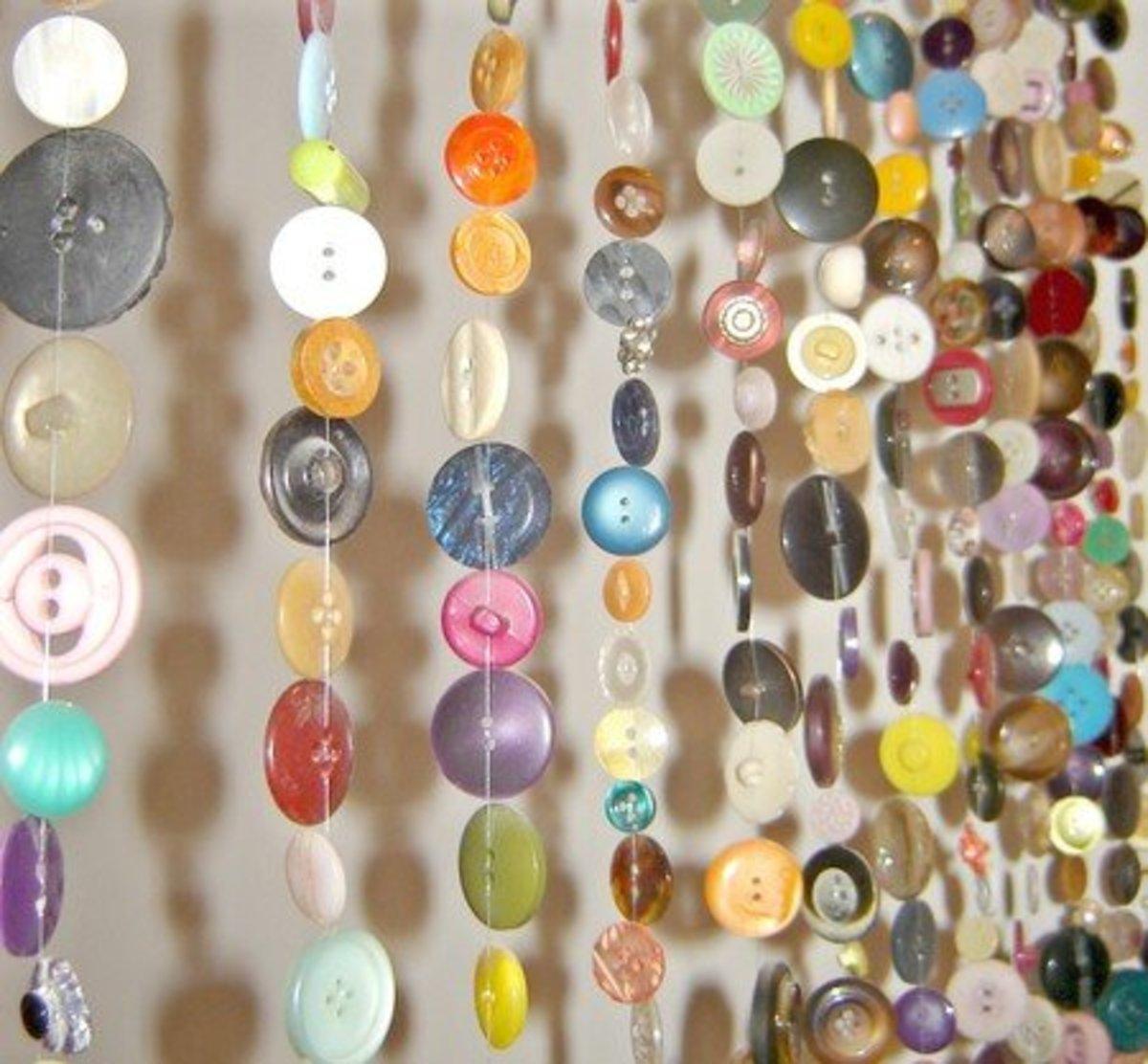Button Curtains