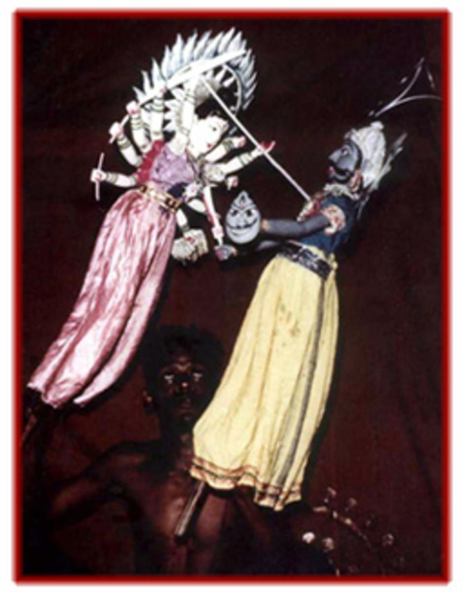 Rod puppets of Orissa