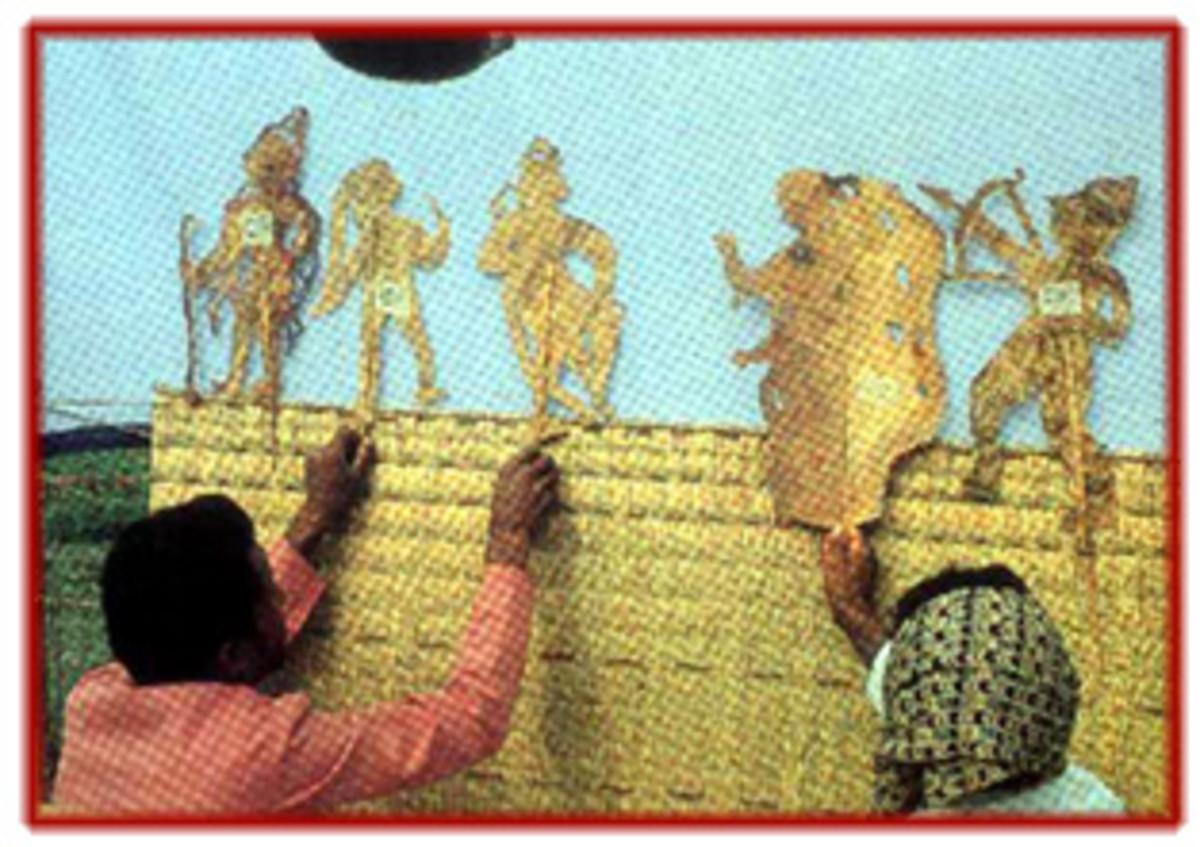Shadow puppetry of Orissa