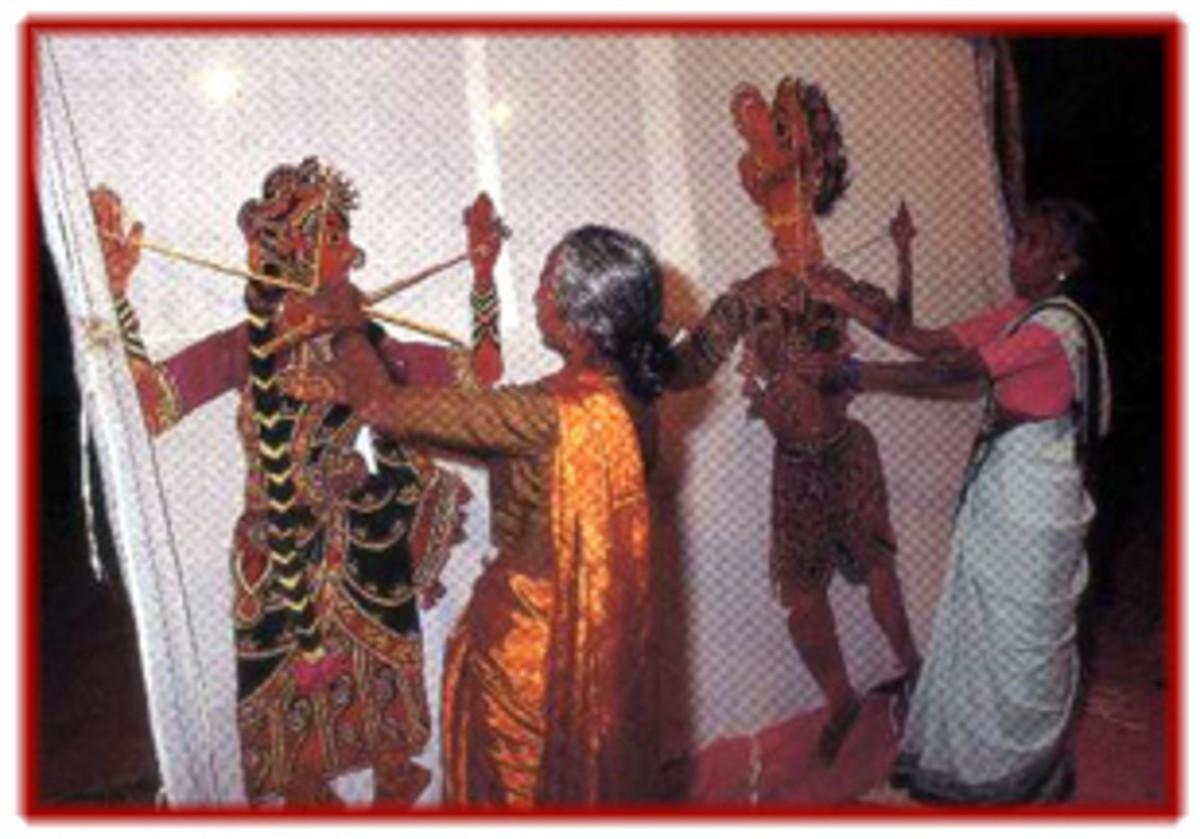 Shadow puppetry(Tholu Bommalatta) of Tamil Nadu
