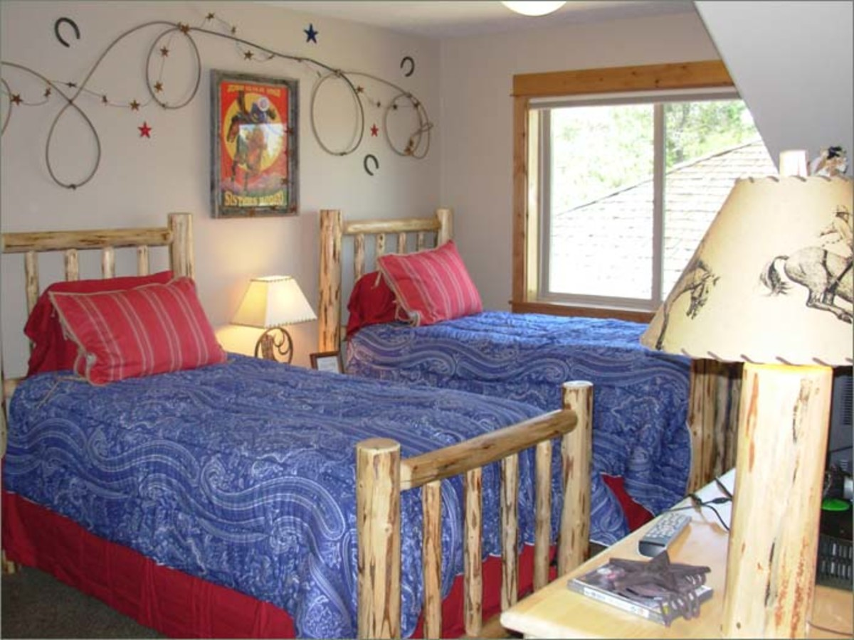 decorating a cowboy western boys bedroom ideas