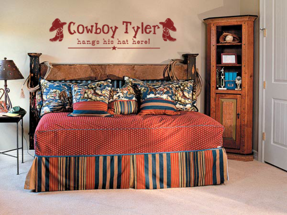 Decorating A Cowboy Western Boys Bedroom