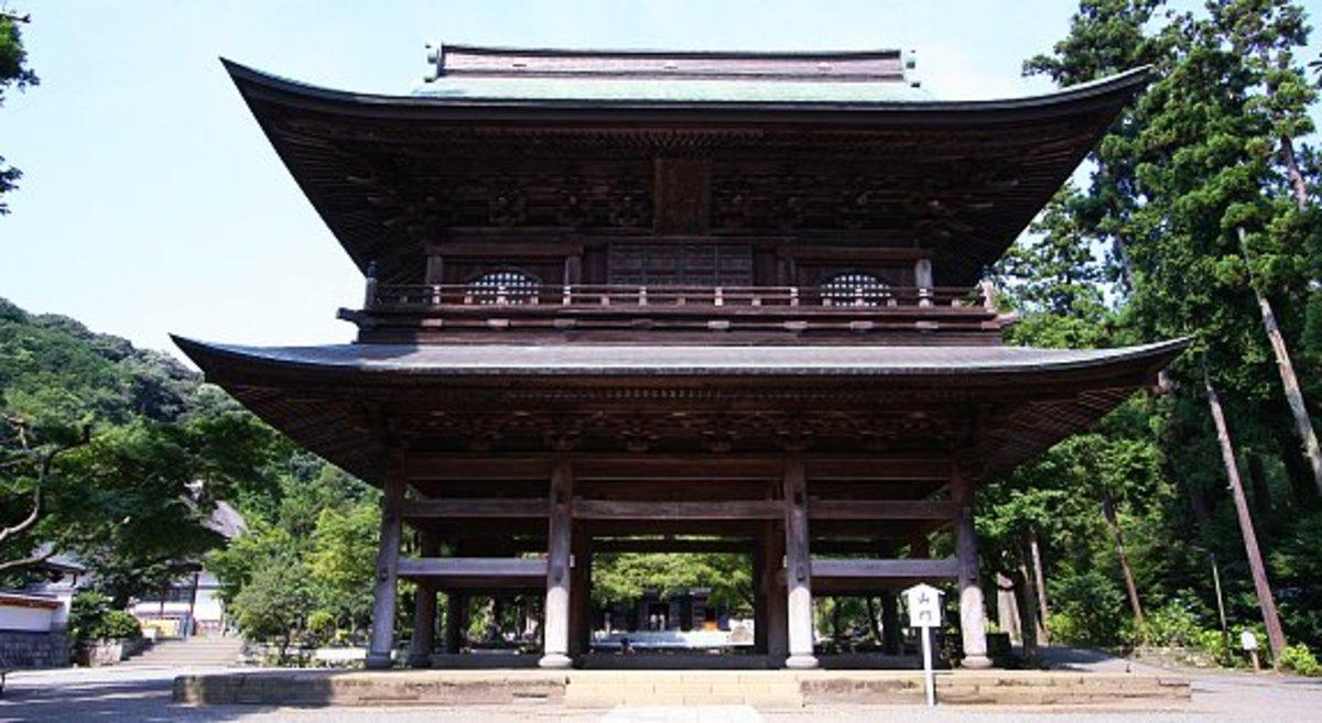 The Shariden of Enkakuji temple in Kamakura