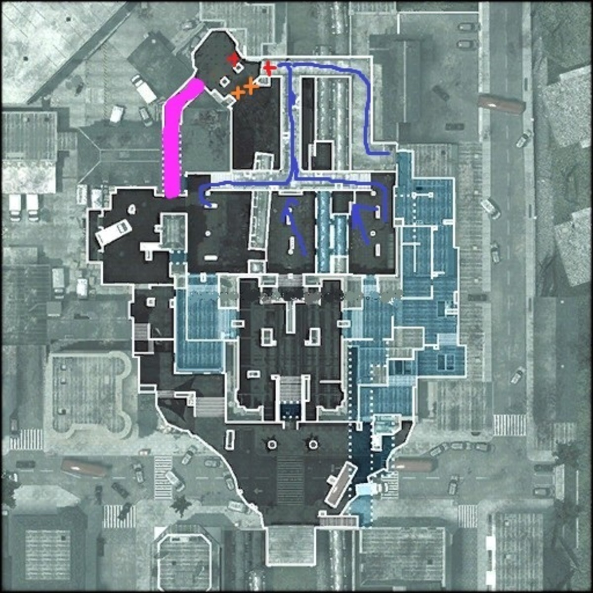 tips-for-underground-on-survival-mode-in-spec-ops-on-call-of-duty-modern-warfare-3-learn-how-to-get-far-mw3
