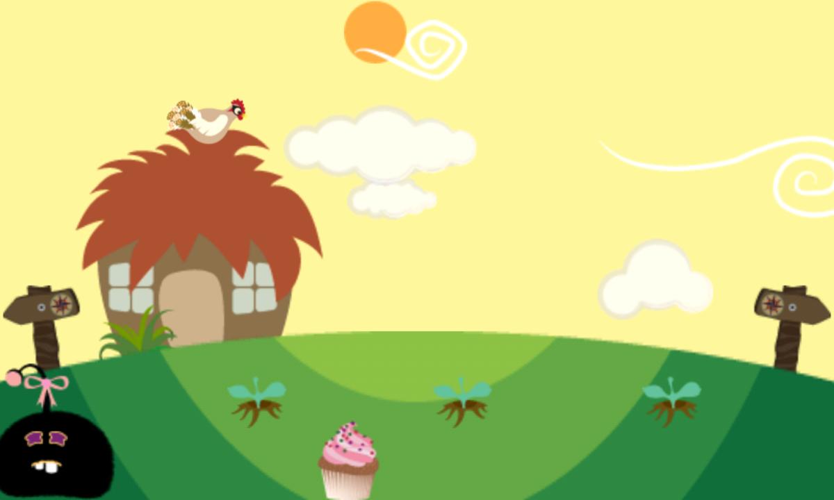 Something like a cupcake can make a sad Furdi happy.