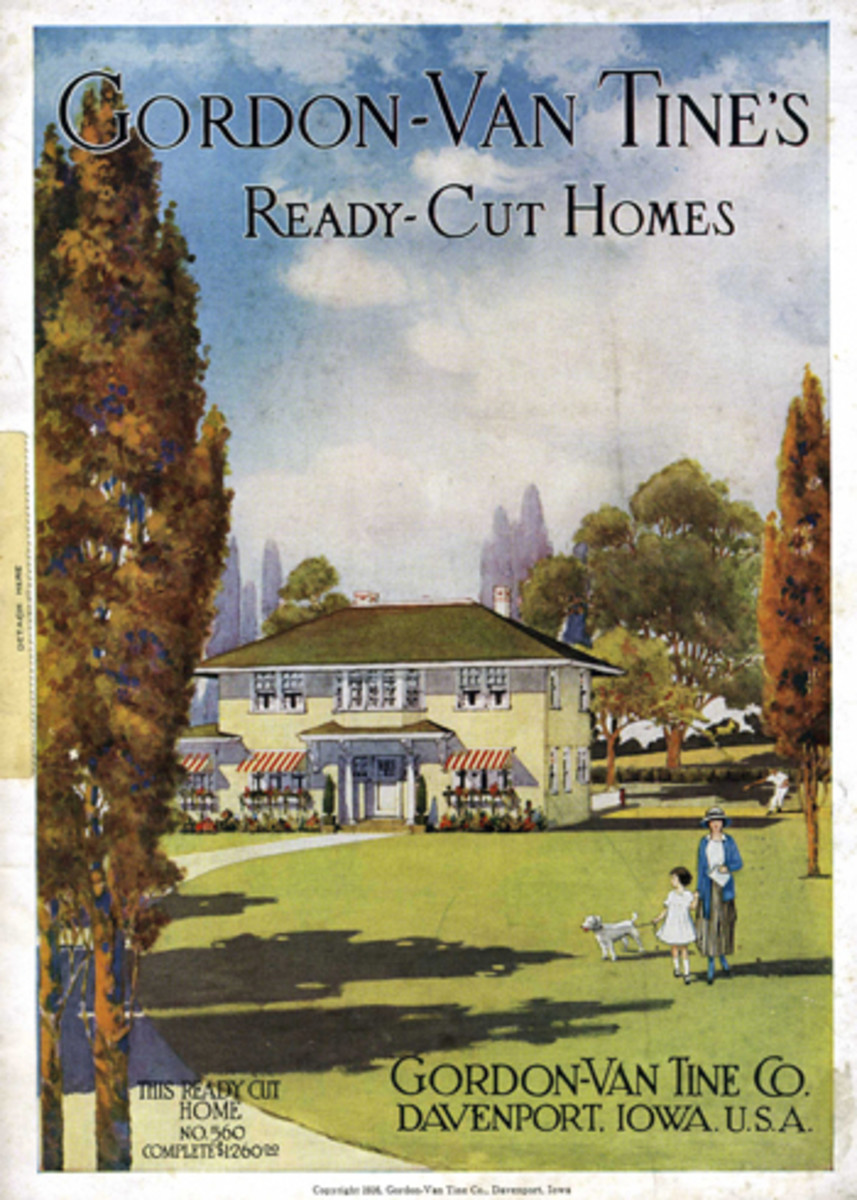 People could order their HOME through a mail order catalog back then, and they were CHEAP!