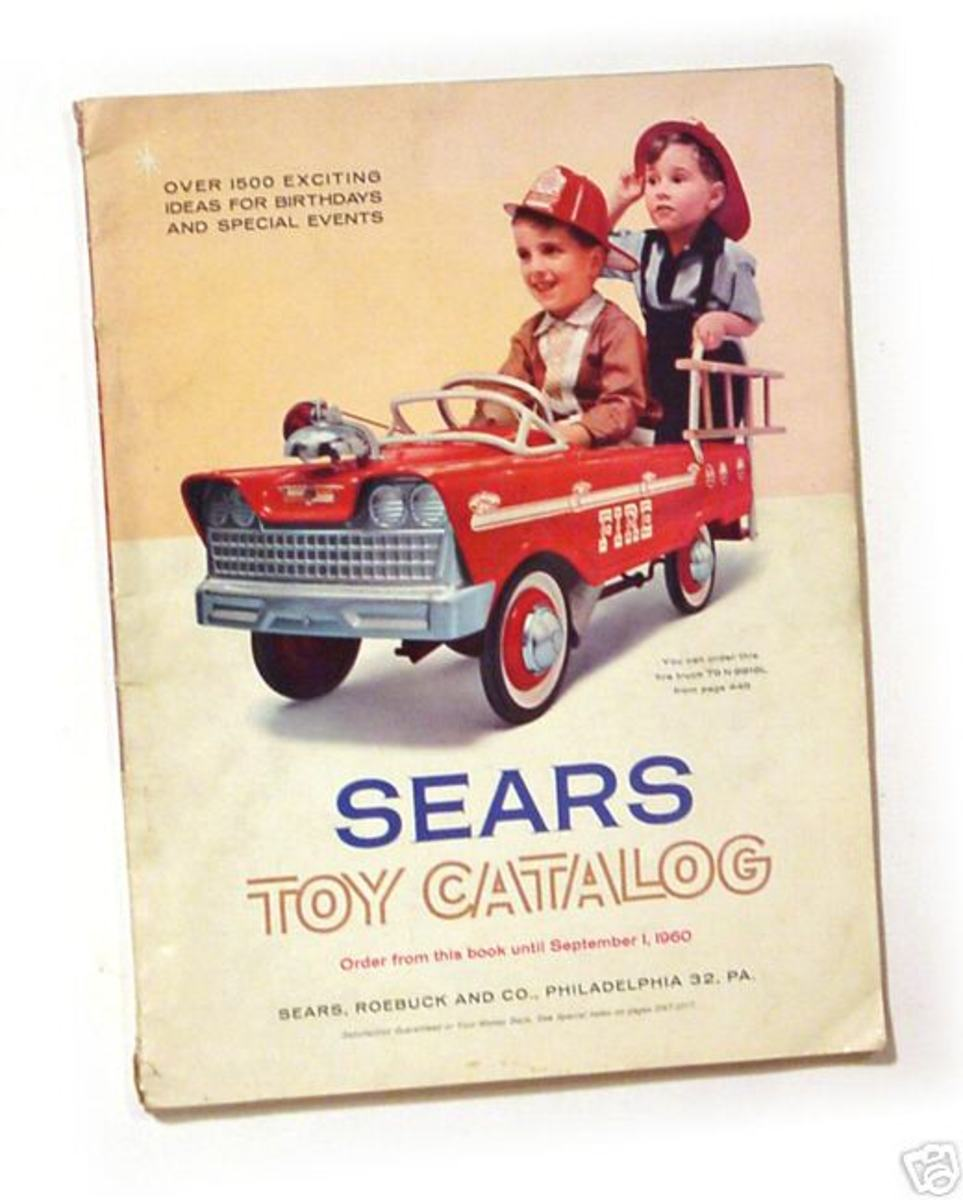 A 1960 Sears catalog