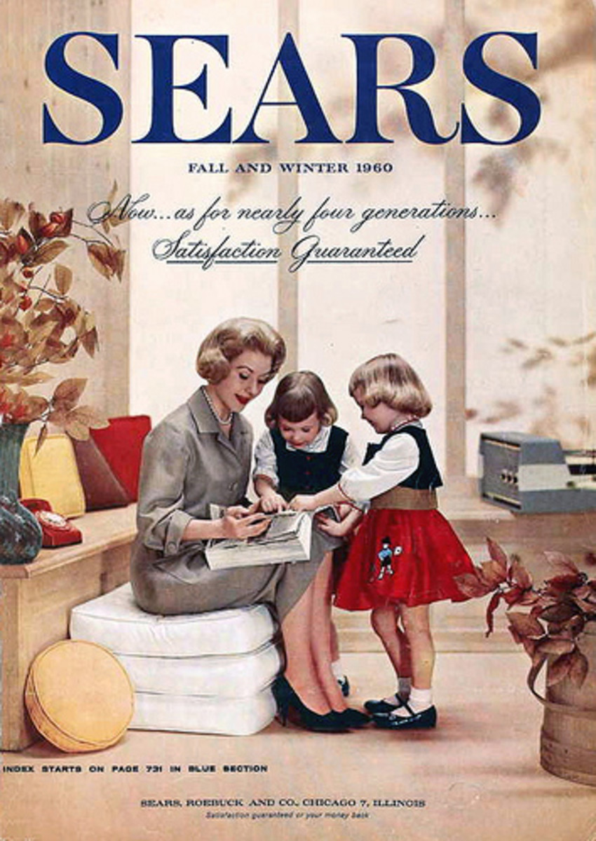Another 1960 Sears catalog... we probably had these in my home, but I would have only been a year old!