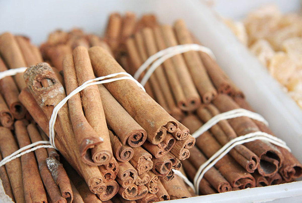 Health Benefits of Cinnamon: The cinnamon that you buy from a health food store may look like this. For convenience, you can powder this up to get fine ground cinnamon that you can add to your tea or toast.