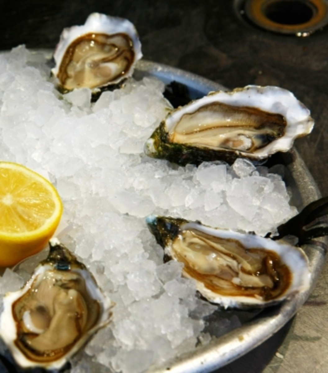 Oysters are a natural source of B12.