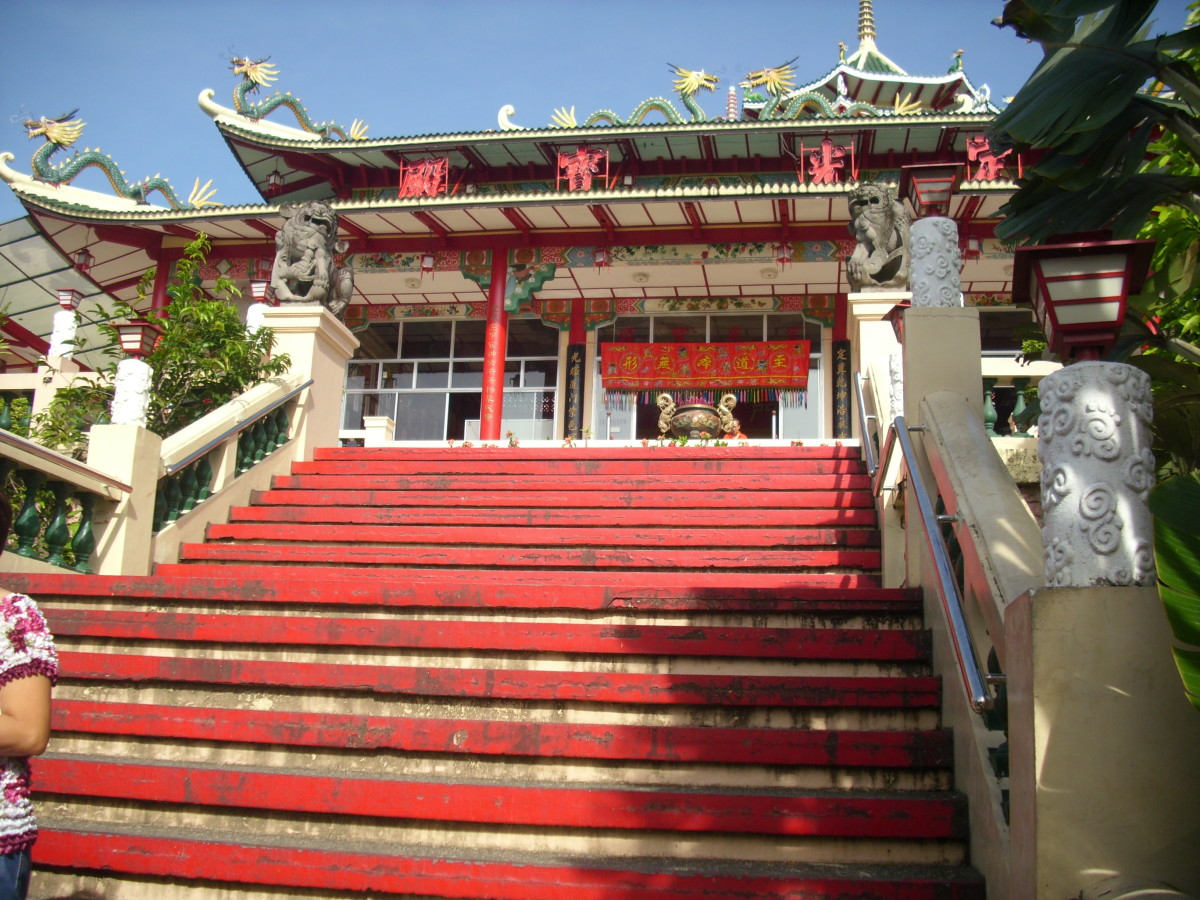 Chinese Taoist Temple, Cebu City, Philippines