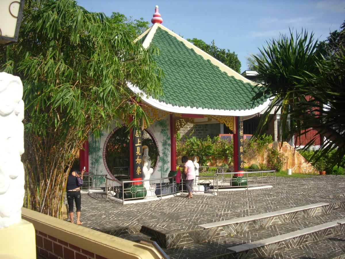 A Shrine at the Taoist Temple, Cebu City, Philippines