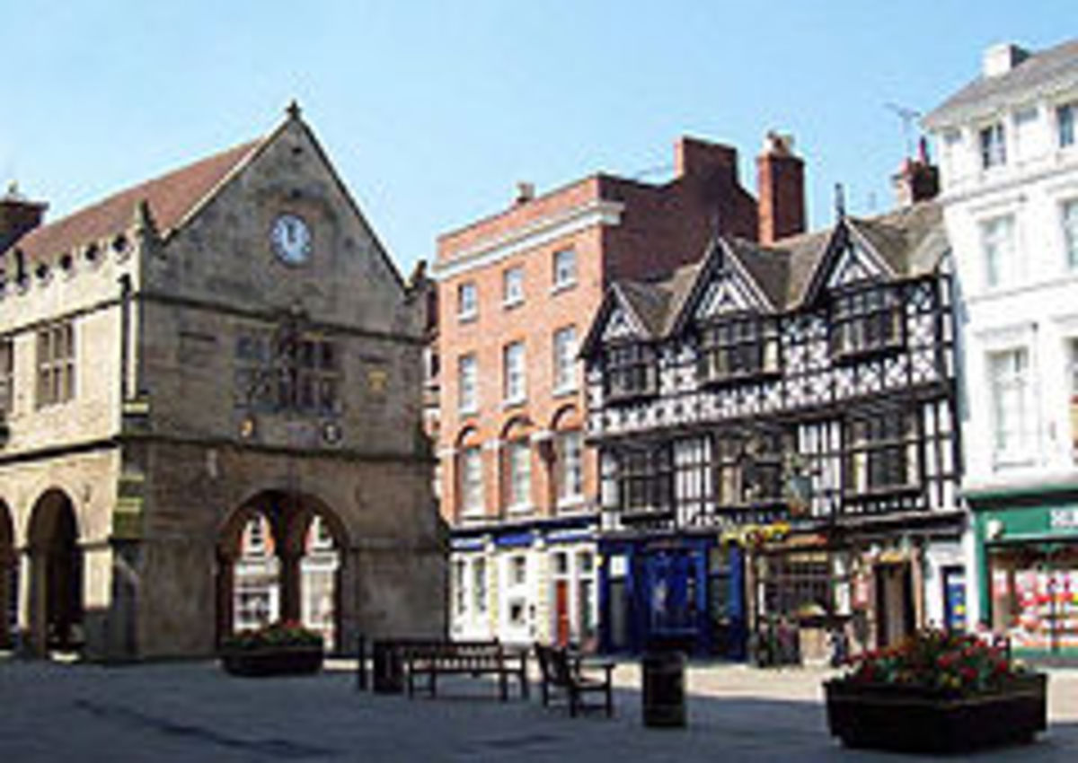 The English Town of Shrewsbury is a Beautiful place to visit today. But in the summer of 1283 it served as the scene for a violent death.