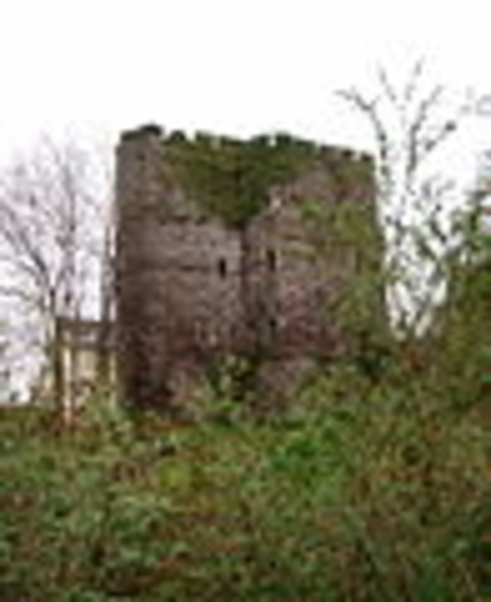 Brecon Castle, the scene of a Welsh offensive in December 1282.