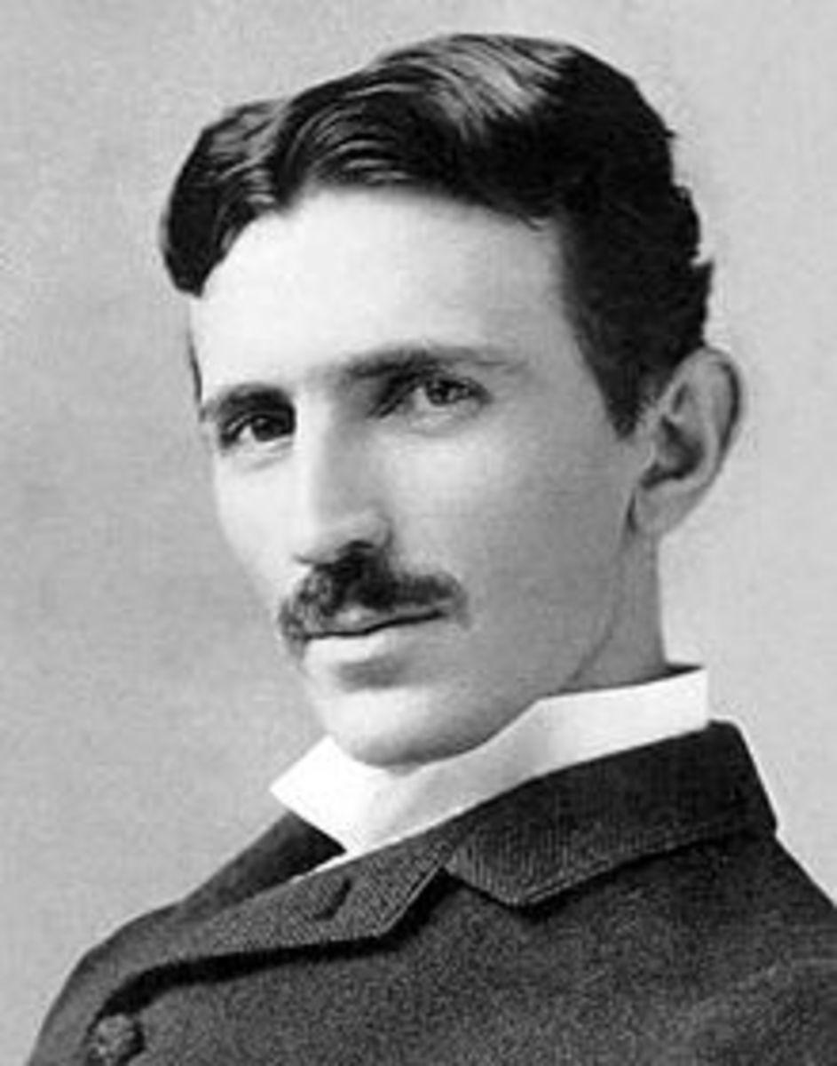 Nikola Tesla in 1893