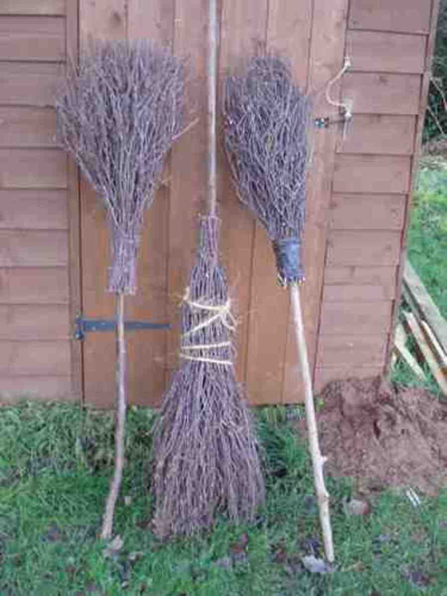Don't forget the besom broom! woodlandskillscentre.co.uk