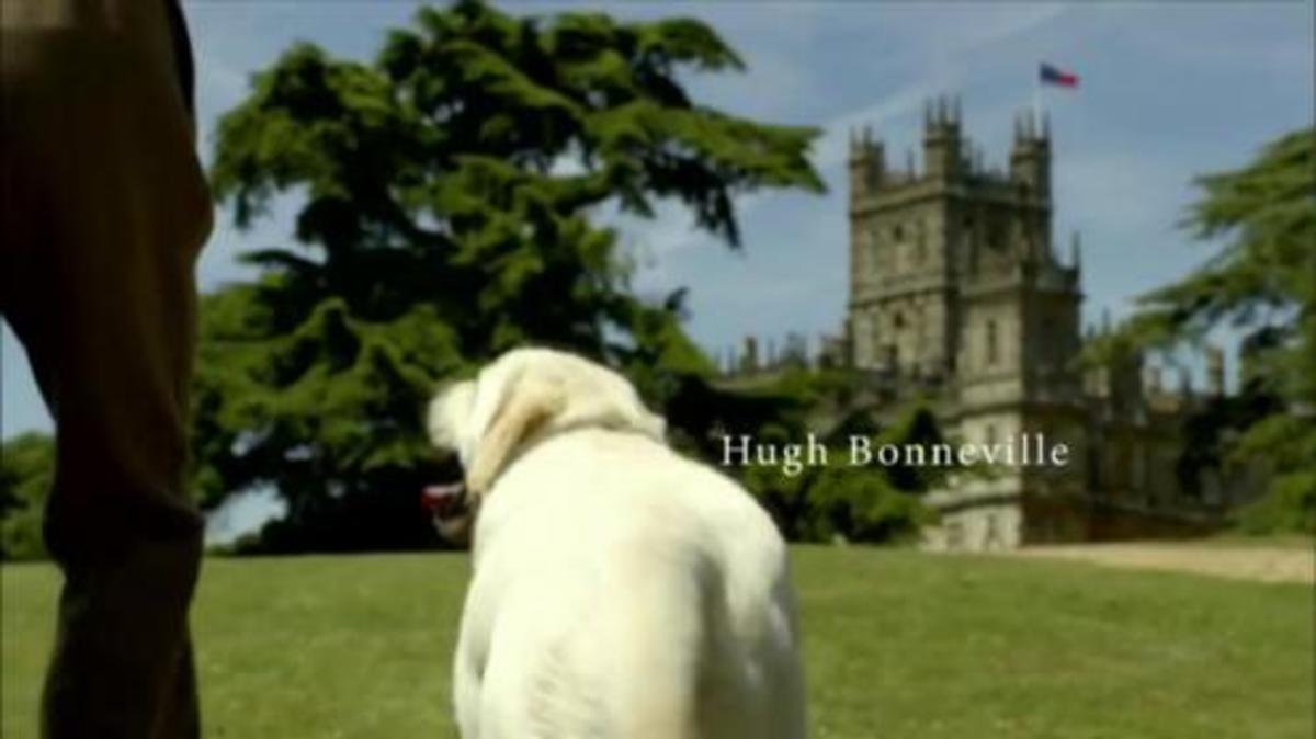Isis in the Downton Abbey Opening Credits