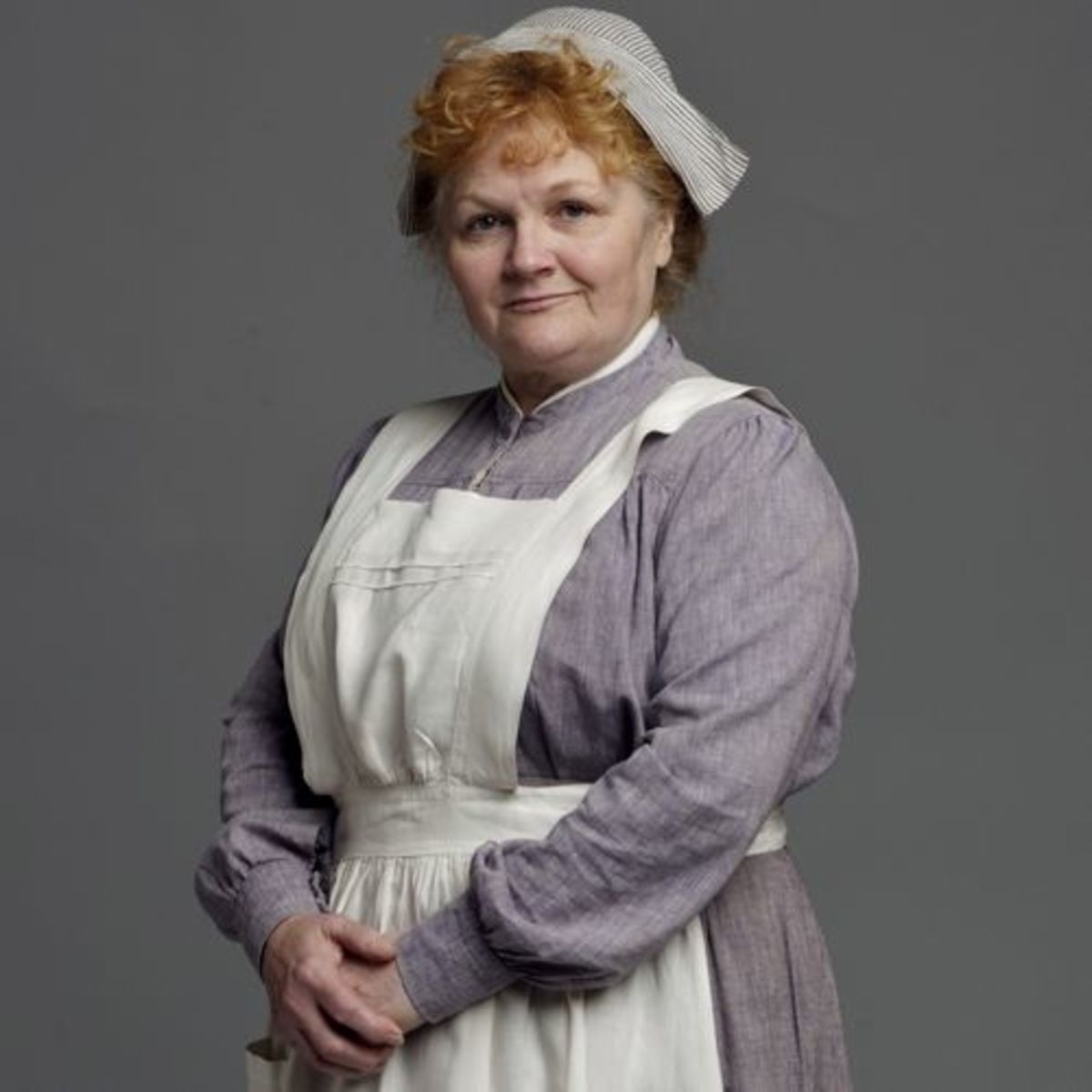 Mrs Patmore. Dog lover and giver of Bones