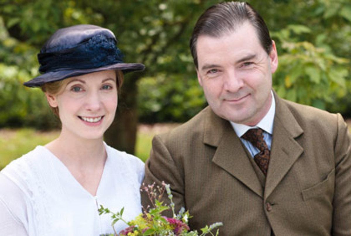 Anna and John Bates Reunited at Downton