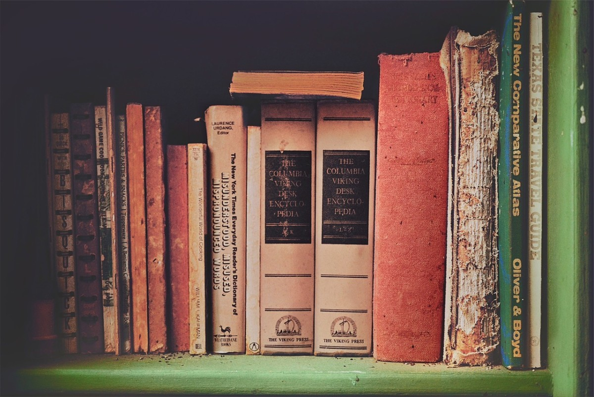 Books will never go out of style or usefulness