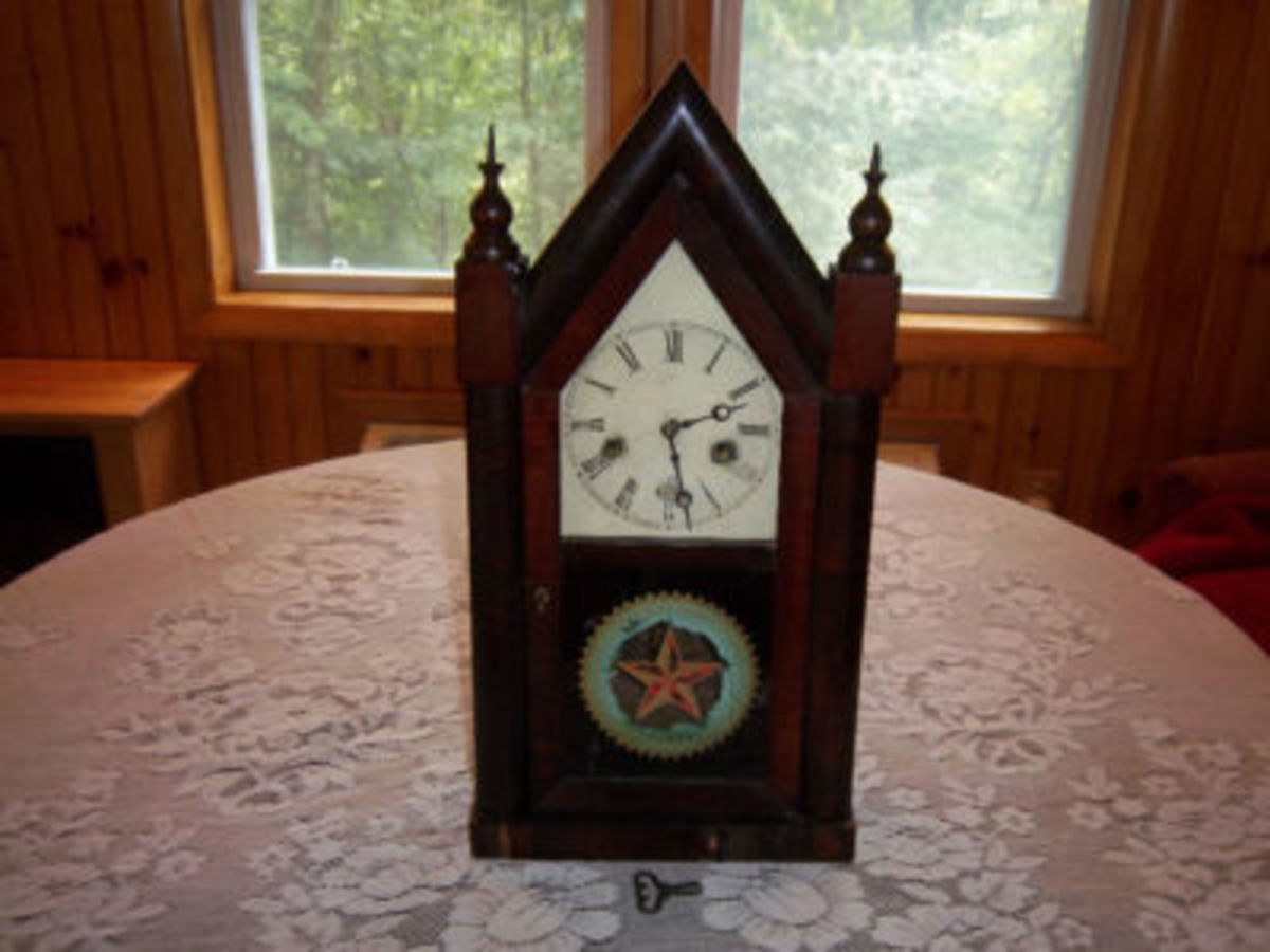 Antique Vintage Gothic Clocks