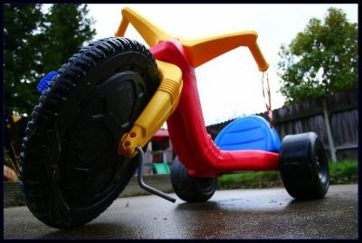 Big Wheels: Then and Now