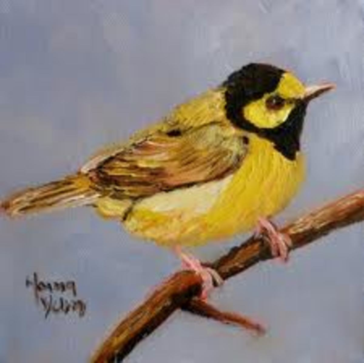 Bird Paintings And Art-Painting And Art Designs And Ideas