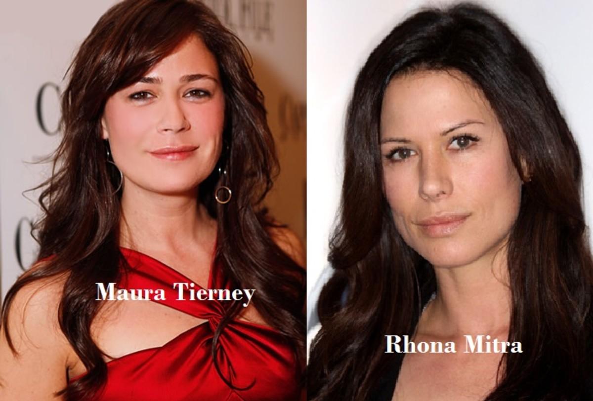Maura Tierney look alike