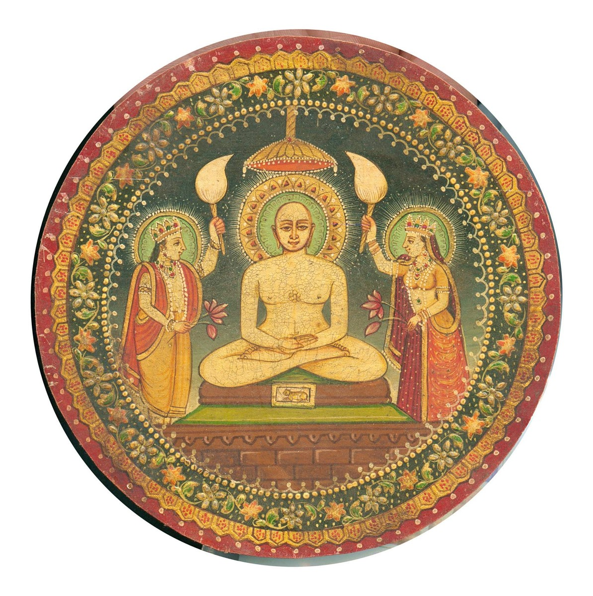 Miniature Painting of Bhagwan Mahaveer